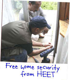 Picture: Free home security from HEET